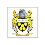 Chardonnot Square Sticker 3