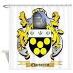 Chardonnot Shower Curtain