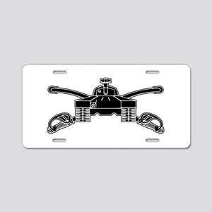 Armor - B-W Aluminum License Plate