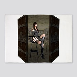 Dungeon Door Mistress 5'x7'Area Rug