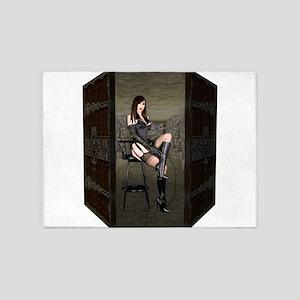 Dungeon Door Mistress 5'x7'Area Rug