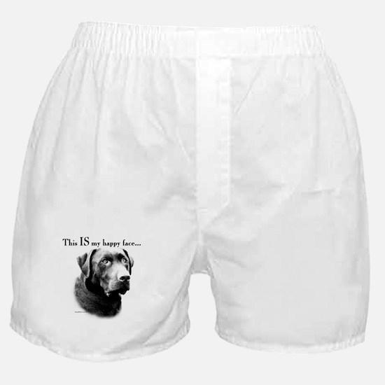 Lab Happy Face Boxer Shorts