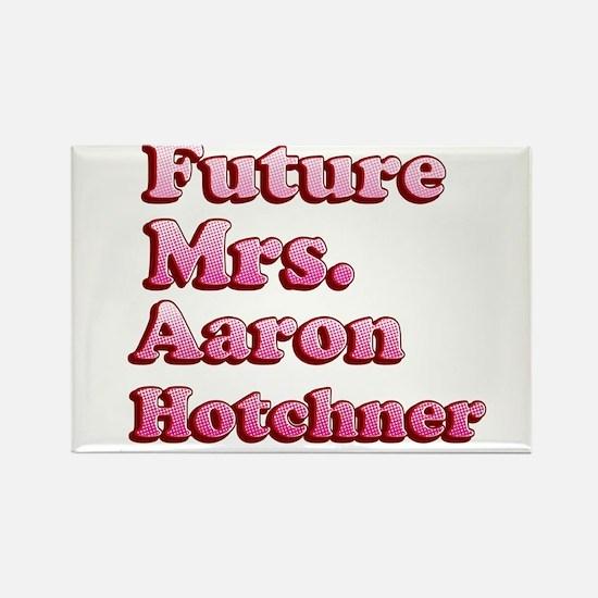 Future Mrs Aaron Hotchner Rectangle Magnet