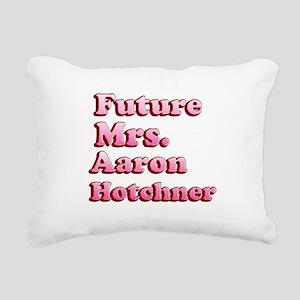 Future Mrs Aaron Hotchner Rectangular Canvas Pillo