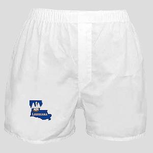Louisiana Flag Boxer Shorts