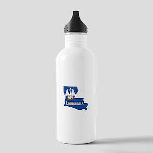 Louisiana Flag Stainless Water Bottle 1.0L