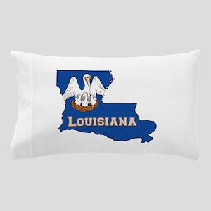 Louisiana Flag Pillow Case