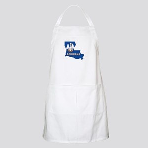 Louisiana Flag Apron