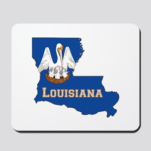 Louisiana Flag Mousepad