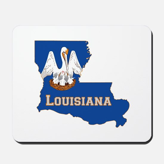 Louisiana Flag Mousepad
