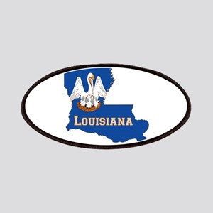 Louisiana Flag Patches
