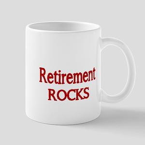 Retirement Rocks-red Mug