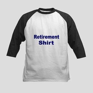 Retirement Shirt-blue Baseball Jersey