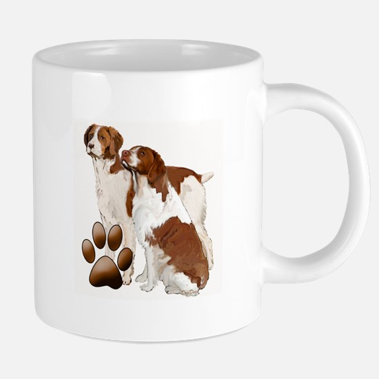 brittany spaniels2 Stainless Steel Travel Mugs