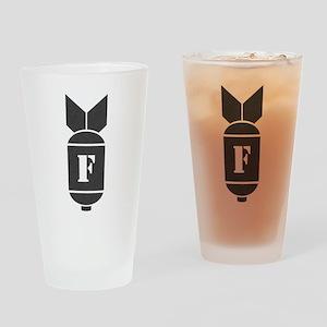 InkBomb2 Drinking Glass