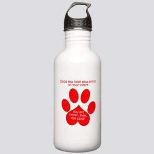 Paw Prints Water Bottle