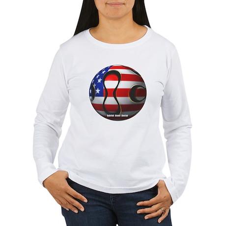 USA Soccer Women's Long Sleeve T-Shirt