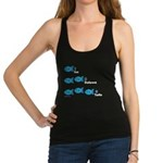 Counting in Tagalog Racerback Tank Top