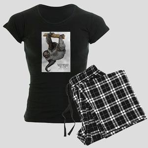 Linnaeus's Two-Toed Sloth Women's Dark Pajamas