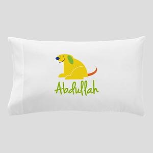 Abdullah Loves Puppies Pillow Case