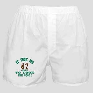It took me 42 years to look this good Boxer Shorts