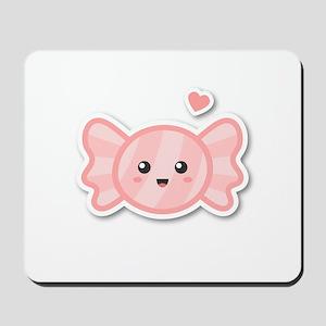 Kawaii and Sweet Like Candy Mousepad