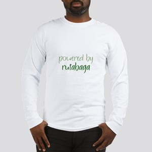 Powered By rutabaga Long Sleeve T-Shirt