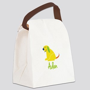 Aden Loves Puppies Canvas Lunch Bag