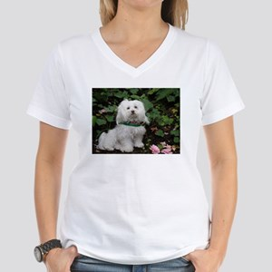 Women's Maltese Cap Sleeve T-Shirt