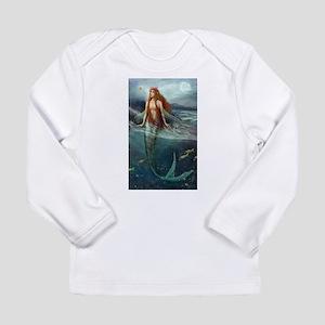 Mermaid of Coral Sea Long Sleeve T-Shirt