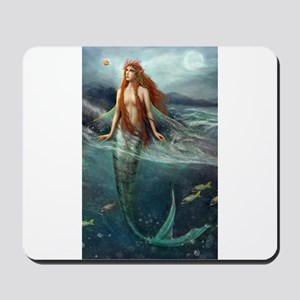 Mermaid of Coral Sea Mousepad