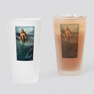 Mermaid of Coral Sea Drinking Glass