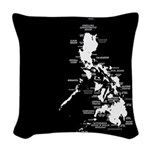 Philippine Islands Woven Throw Pillow
