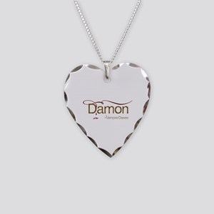 The Vampire Diaries DAMON gold metal Necklace Hear