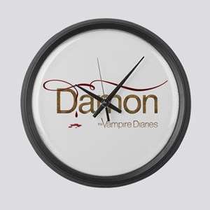 The Vampire Diaries DAMON gold metal Large Wall Cl