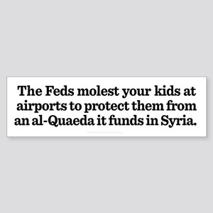 Syria and Security Bumper Sticker