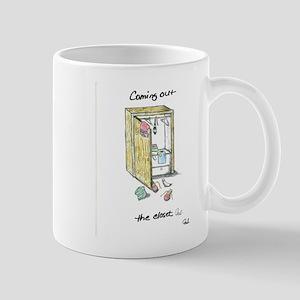 Coming Out the Closet Mug