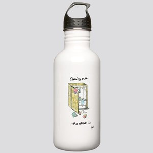 Coming Out the Closet Water Bottle
