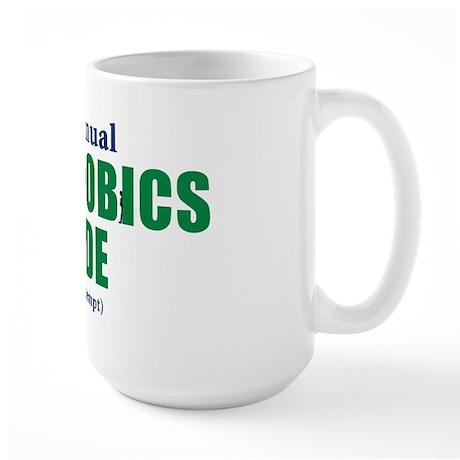 Agoraphobics Parade Large Mug