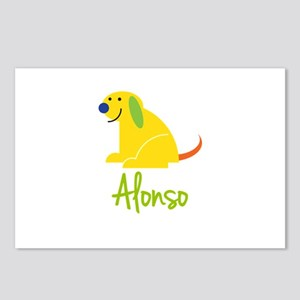 Alonso Loves Puppies Postcards (Package of 8)