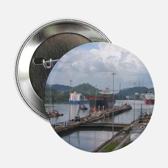 Panama Canal, Miraflores Locks Button