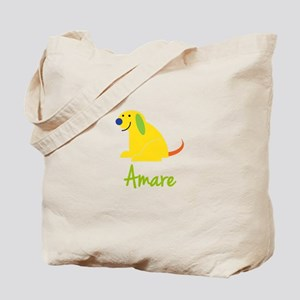 Amare Loves Puppies Tote Bag