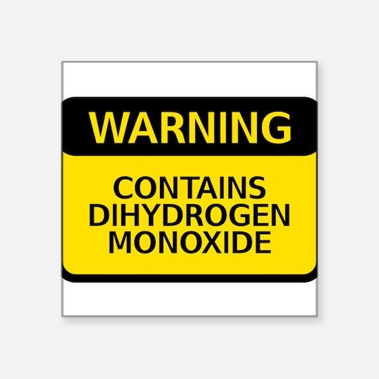 dihydrogen monoxide Sticker