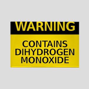 dihydrogen monoxide Rectangle Magnet