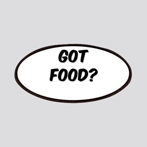 GOT FOOD? Patches