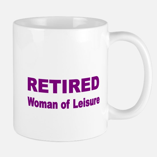 Retired Mug