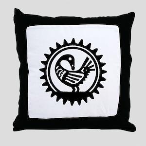 Sankofa Bird Throw Pillow