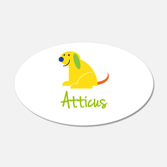 Atticus Loves Puppies Wall Decal