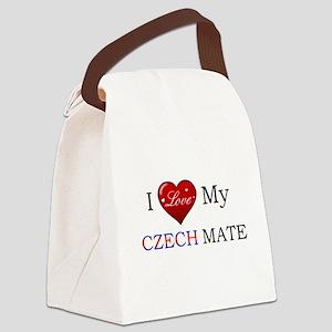 Czech mate Canvas Lunch Bag