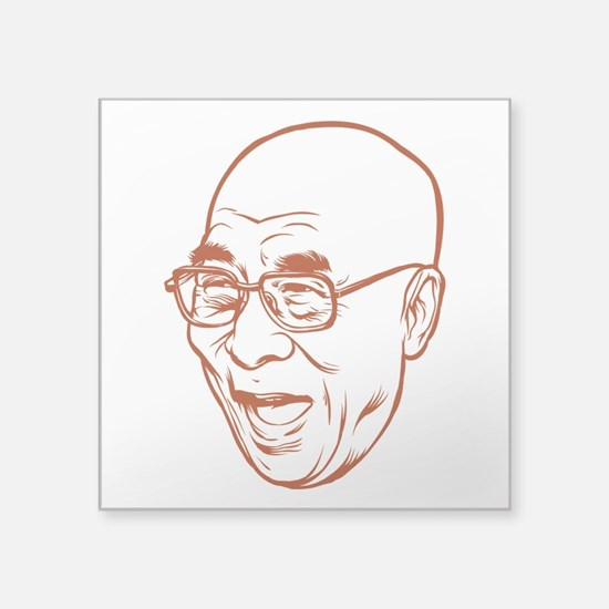 Dali Lama Head Sticker